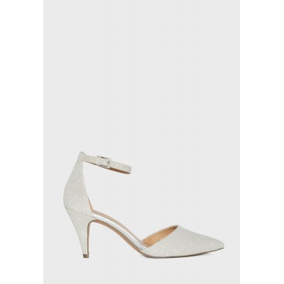 Call It Spring Womens silver Isabelaa Ankle Strap Pump 4NZHQ718