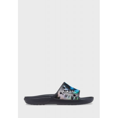 Crocs Girl's multicolor Classic Printed Slides 6AN999446