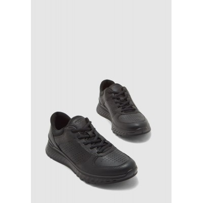 Ecco Girls black Low Top Lace Up Sneakers 4AR9A2150