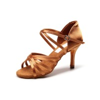 Women's Latin Dance Shoes Salsa Sandals For Ballroom on clearance #17020892580
