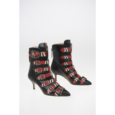 Gucci Women 6cm Leather Ankle Boot RBWQ297