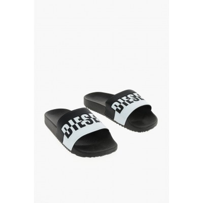 Diesel Women's Rubber FREESTYLE Slippers QFMX572